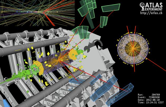 El experimento ATLAS, del CERN.