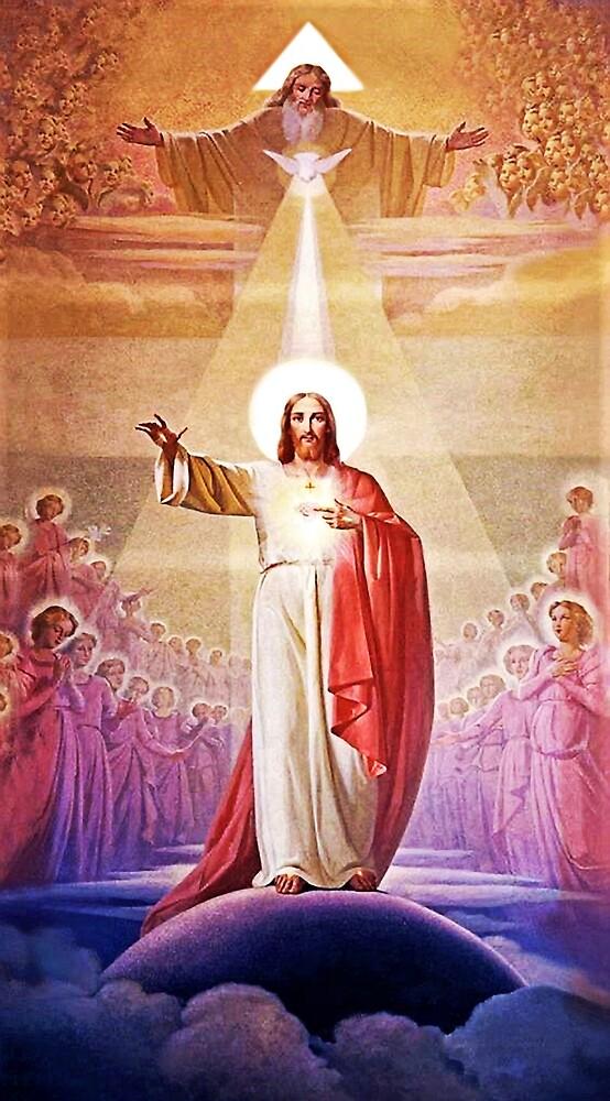 La inteligencia del Padre, y el amor del Espíriti Santo, fecundan a la conciencia, el Hijo.